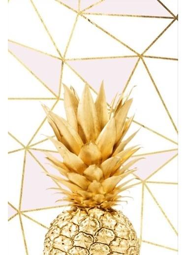 Soley Altın Ananas Djt. 40x60 Banyo Paspası Renkli